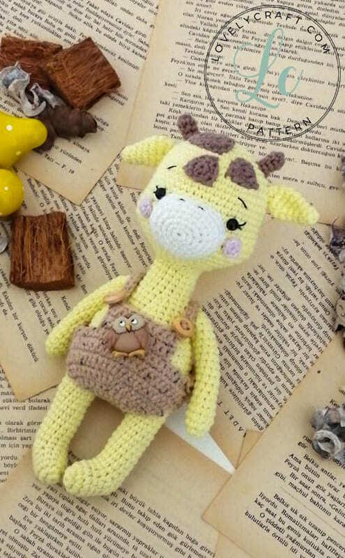 Crochet Giraffe Rufus Amigurumi Free Pattern (1)