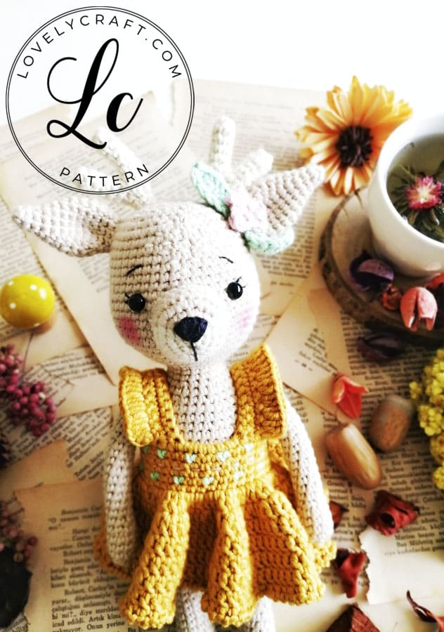 Crochet Deer Amigurumi free pattern