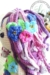Mermaid Calypso amigurumi hair flowers