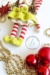 Elf Berry Amigurumi Christmas skirt and booties crochet pattern