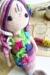 Mermaid Calypso amigurumi body and flowers