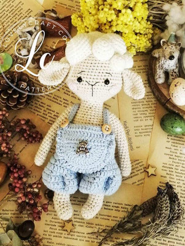 Crochet Lamb Muffin Amigurumi Free Pattern (6)