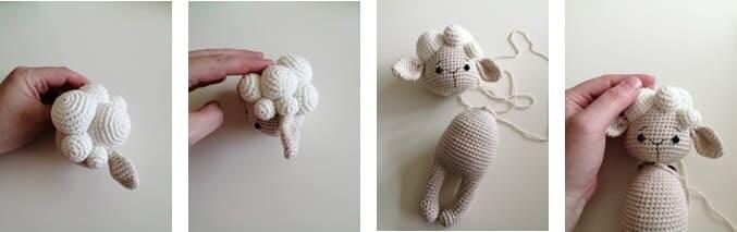 Crochet Lamb Muffin Amigurumi Free Pattern bubble 2