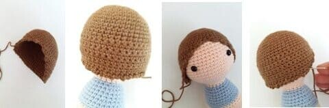 Crochet Maribel Doll Amigurumi Free Pattern