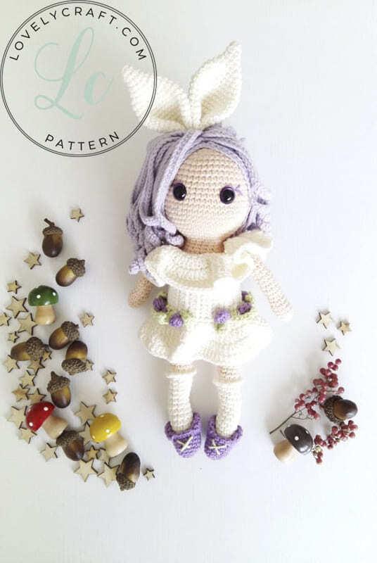 Crochet Rubby Bunny Girl Amigurumi Free Pattern (2)
