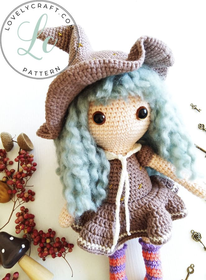 Sabrina the Witch amigurumi crochet pattern (3)