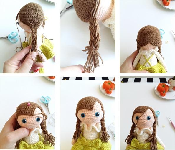 Hair Braid (Brown Color)