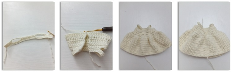 Dress(Use cream color)