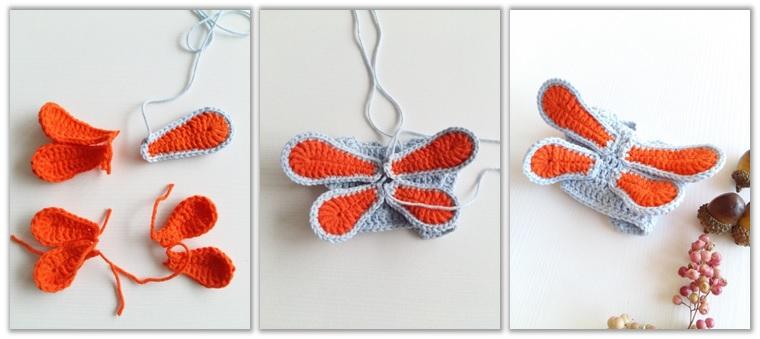 Crochet Cat Girl Doll Amigurumi Free Pattern wings