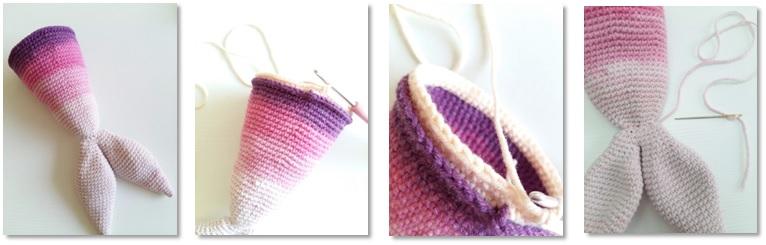 Calypso Mermaid Amigurumi Crochet Free Pattern body