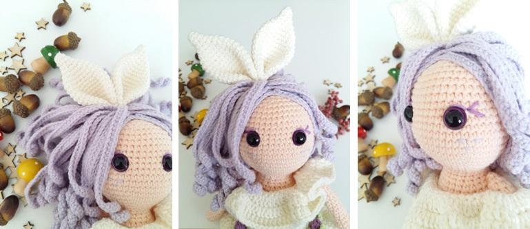 Crochet Rubby Bunny Girl Amigurumi Free Pattern