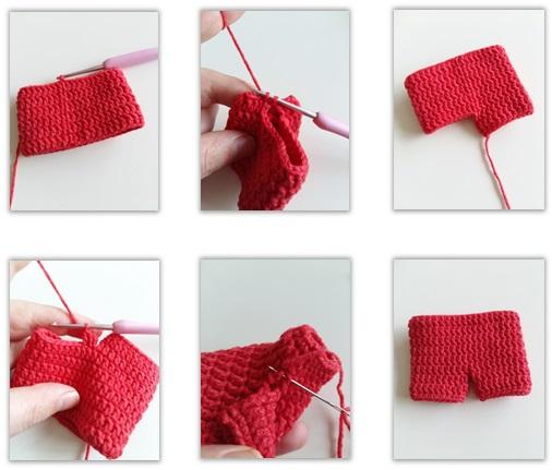 Pants (Use Red yarn)