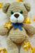 Cute teddy bear amigurumi toy free pattern 03