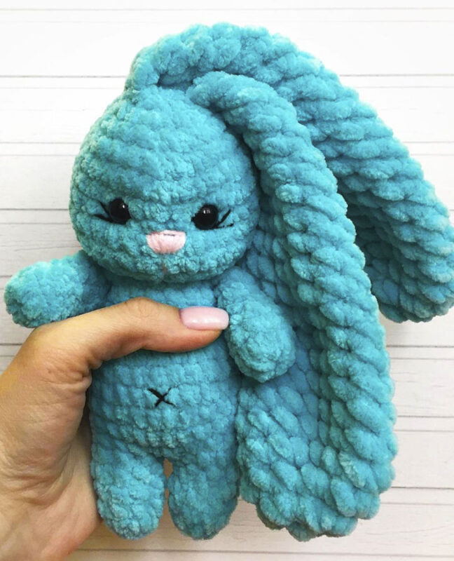 Sunny bunny amigurumi free crochet pattern 1