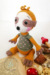 Sloth Coco Amigurumi Crochet Pattern hair and sweater