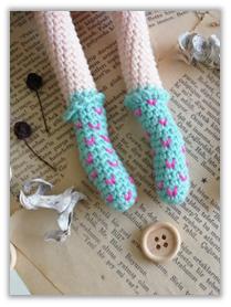 Crove Doll Amigurumi Crochet Pattern legs