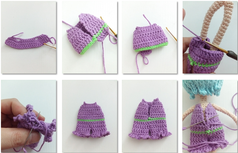 Fairy Pui Amigurumi Crochet Pattern necklace