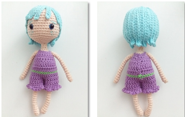 Fairy Pui Amigurumi Crochet Pattern necklace 3