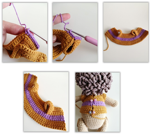 Lion Benroy Amigurumi Crochet Pattern sweater