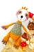 Sloth Coco Amigurumi Crochet Pattern lovely color
