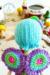 Little fairy pui amigurumi doll free crochet pattern wings