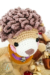 Lion benroy amigurumi toy mane