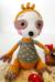 Sloth Coco Amigurumi Crochet Pattern face and eyes