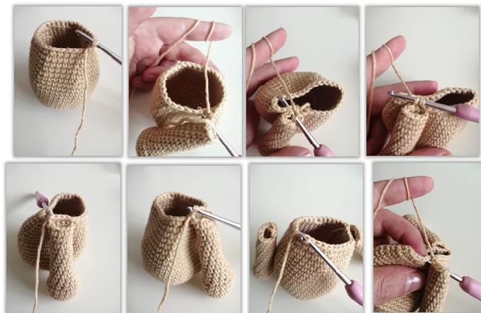 Lion Benroy Amigurumi Crochet Pattern body