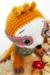 Sloth Coco Amigurumi Crochet Pattern head