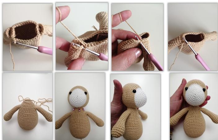 Lion Benroy Amigurumi Crochet Pattern body 2