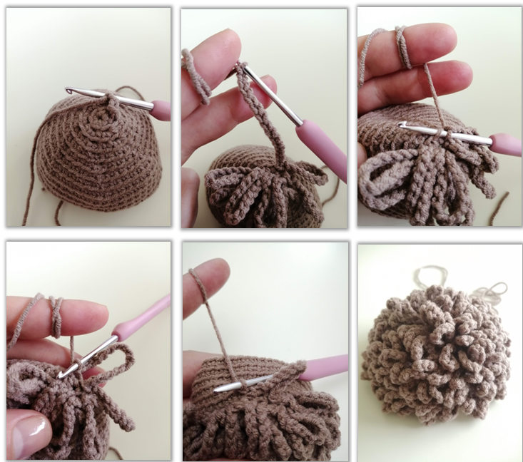 Lion Benroy Amigurumi Crochet Pattern mane