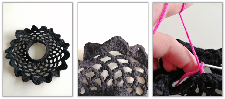 Crove Doll Amigurumi Crochet Pattern skirt