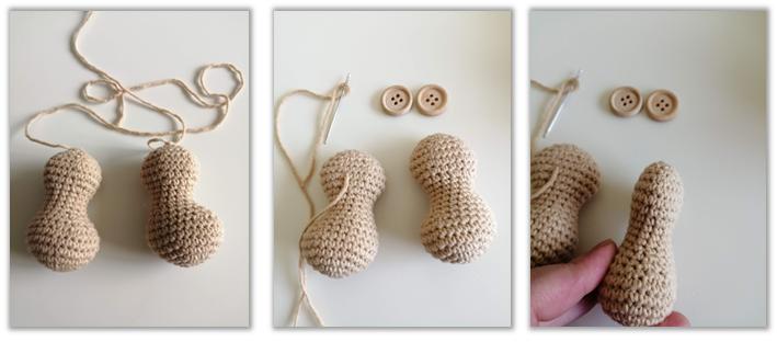 Lion Benroy Amigurumi Crochet Pattern legs