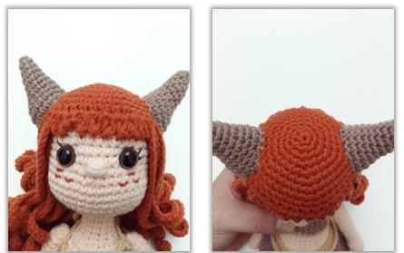 Horns (Make 2)