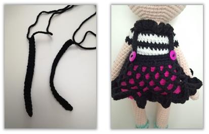 Crove Doll Amigurumi Crochet Pattern skirt 2