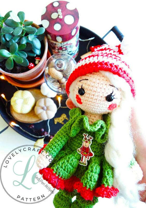 Christmas Crcohet Elf Doll Amigurumi Free Pattern (3)