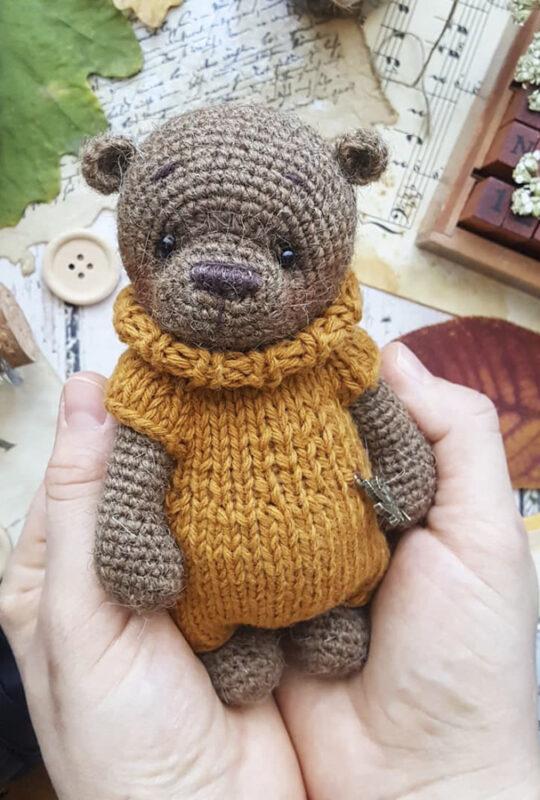 Crochet Teddy Bear PDF Amigurumi Free Pattern