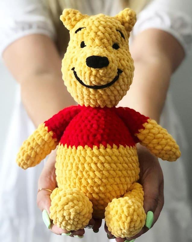 Crochet Winnie The Pooh Amigurumi Free Pattern (1)