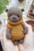 Lovely Bear amigurumi free crochet pattern