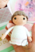 Little angel amigurumi doll free crochet pattern with wings