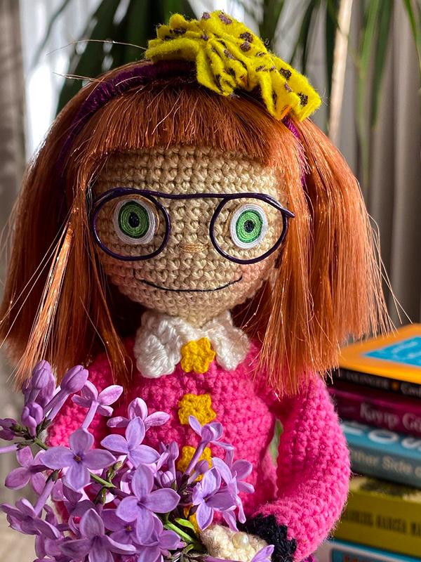 Junie B Jones Amigurumi Crochet Free Pattern