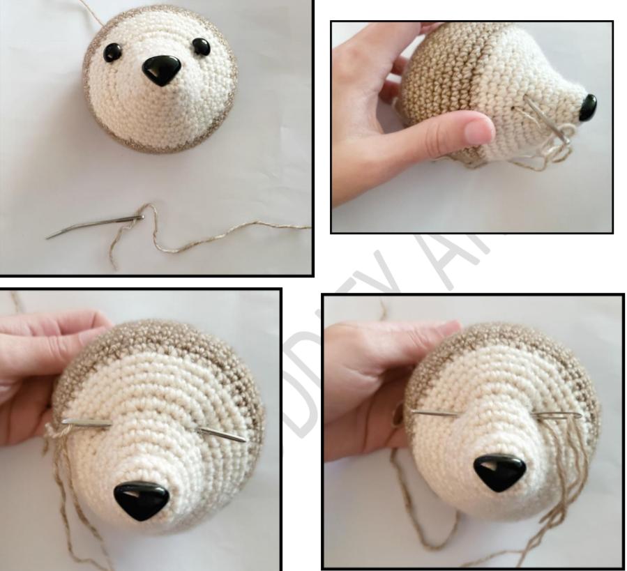 Speedy the Ferret Amigurumi Free Crochet Pattern