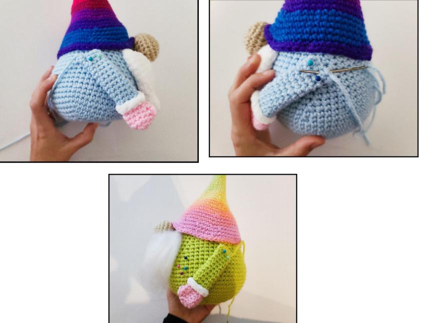 Sweet Gnome Amigurumi Free Crochet Pattern