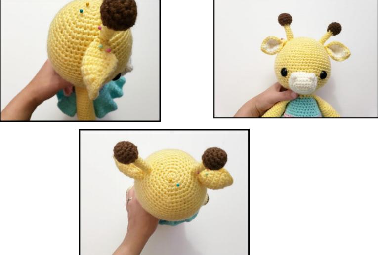 Amelia The Giraffe Amigurumi Free Crochet Pattern