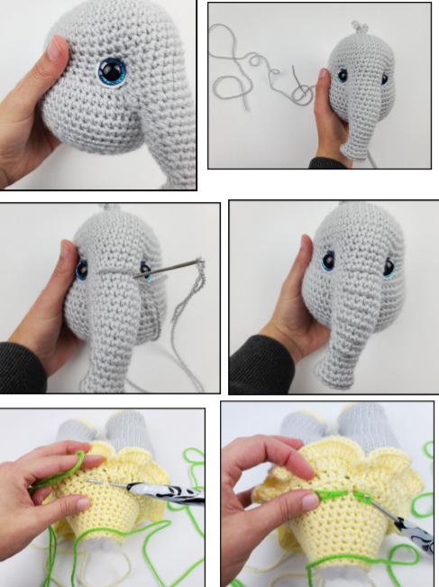 Sunny The Elephant Amigurumi Free Crochet Pattern