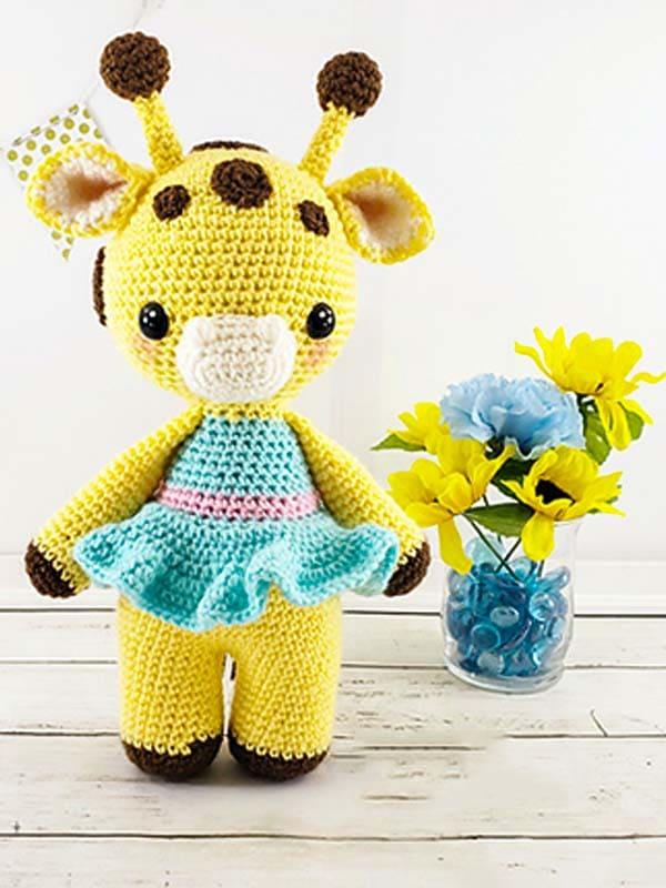 Amelia The Giraffe Amigurumi Free Crochet Pattern 5