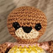 Rainbow Teddy amigurumi pattern