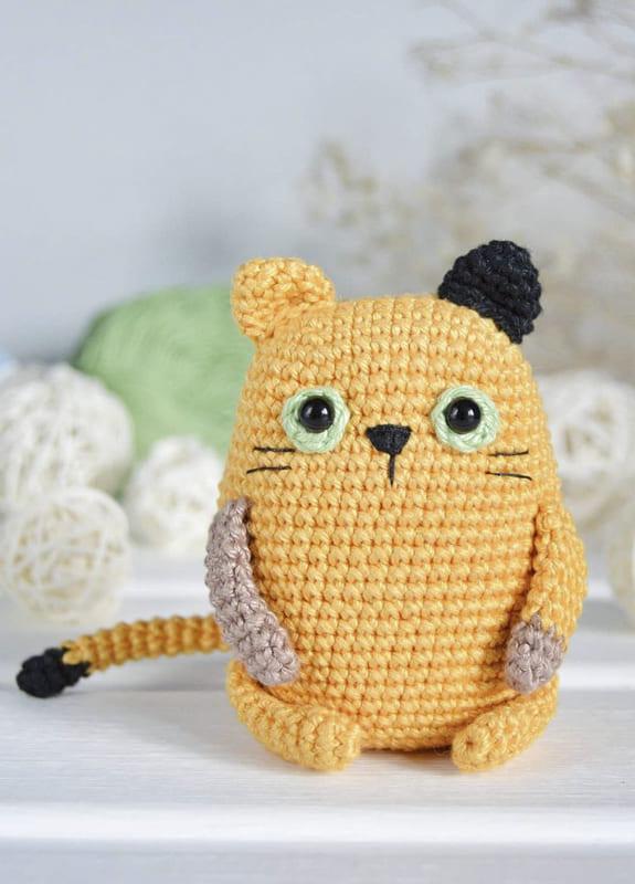 Little Cat Amigurumi Crochet Free Pattern (4)