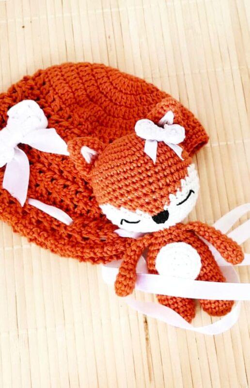 Little Fox Amigurumi Free Pattern (2)