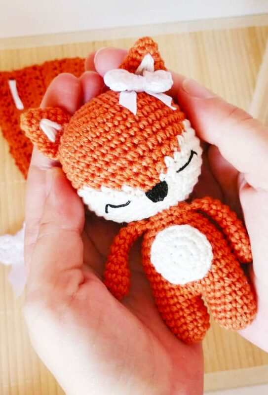 Little Fox Amigurumi Free Pattern (3)